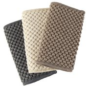 Counter Cloths Recycled Mushroom, Slate, Vanilla, Set of 3